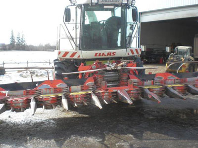 Detail photo of 2007 Claas 900 from Construction Equipment Guide