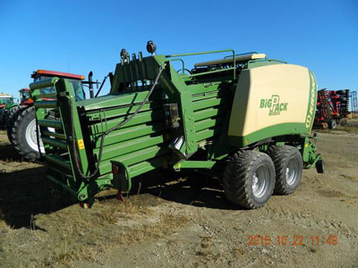 Detail photo of 2012 Krone BP1290HD from Construction Equipment Guide