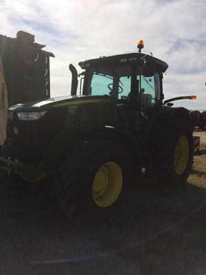 Detail photo of 2012 John Deere 7200R from Construction Equipment Guide