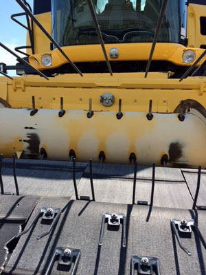 Detail photo of 2003 New Holland 76C-14 from Construction Equipment Guide