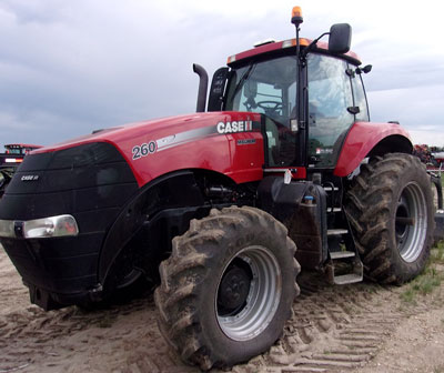 Detail photo of 2011 Case IH MAG260 from Construction Equipment Guide