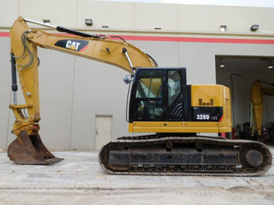 2013 CATERPILLAR 328D LCR