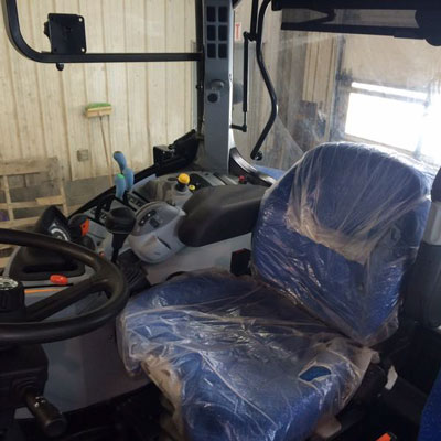 Detail photo of 2015 New Holland T6.155 from Construction Equipment Guide