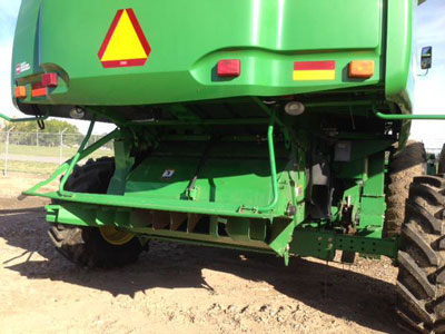Detail photo of 2005 John Deere 9760STS from Construction Equipment Guide