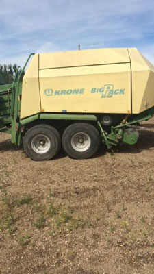Detail photo of 2004 Krone BP128 from Construction Equipment Guide