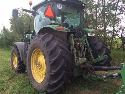 Detail photo of 2013 John Deere 6190R from Construction Equipment Guide
