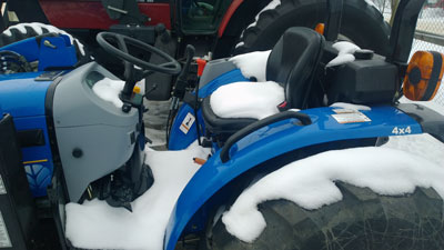 Detail photo of 2013 New Holland BOOMER 40 from Construction Equipment Guide