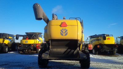 Detail photo of 2013 New Holland CX8080 from Construction Equipment Guide