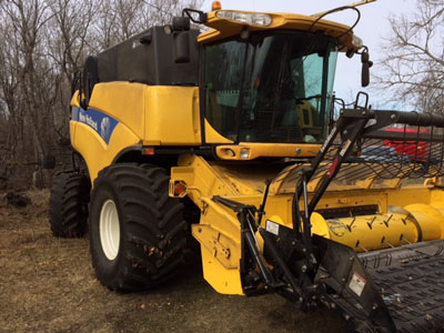 Detail photo of 2010 New Holland CX8080 from Construction Equipment Guide
