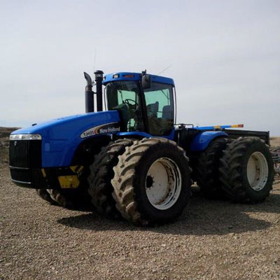 Detail photo of 2005 New Holland TJ425 from Construction Equipment Guide