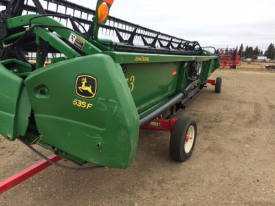 Detail photo of 2008 John Deere 635F-35 from Construction Equipment Guide