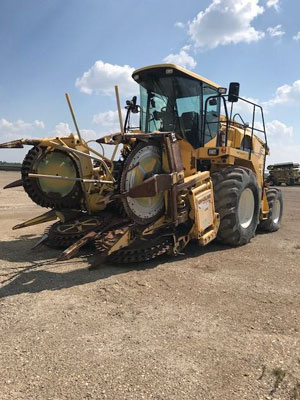 Detail photo of 2001 New Holland FX58 from Construction Equipment Guide