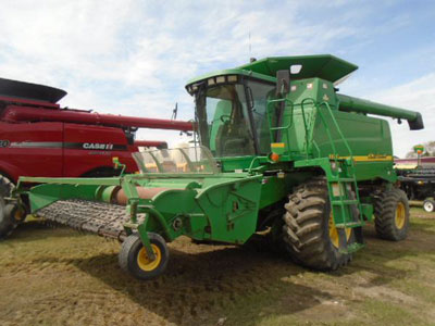 Detail photo of 2001 John Deere 9650 from Construction Equipment Guide