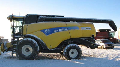 Detail photo of 2009 New Holland CX8080 from Construction Equipment Guide