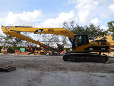 2010 CATERPILLAR 324DL Long Reach