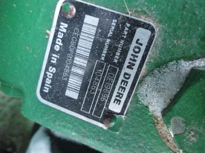 Detail photo of 2011 John Deere 635D from Construction Equipment Guide