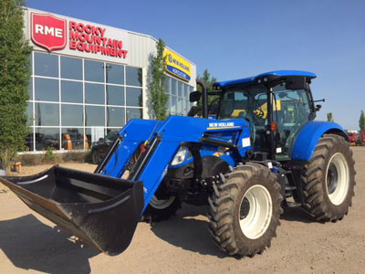 Detail photo of 2016 New Holland T6.165 from Construction Equipment Guide