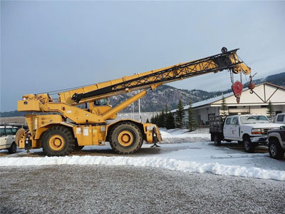 Detail photo of 1986 Grove RT760 from Construction Equipment Guide