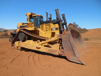 Detail photo of 2008 Caterpillar D11R from Construction Equipment Guide