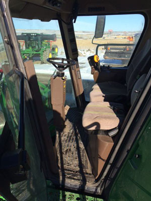 Detail photo of 2009 John Deere 9870 from Construction Equipment Guide
