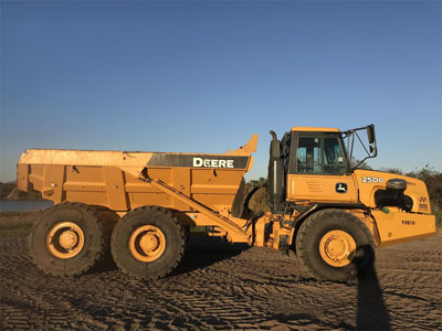 Detail photo of 2011 John Deere 250D II from Construction Equipment Guide