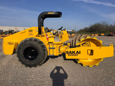 Detail photo of 2012 Sakai SV505T from Construction Equipment Guide