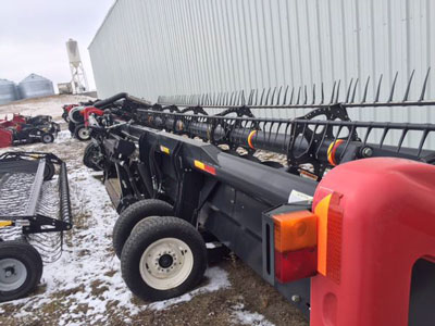 Detail photo of 2009 Case IH 2142-35 from Construction Equipment Guide