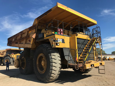 Detail photo of 2009 Caterpillar 785D from Construction Equipment Guide