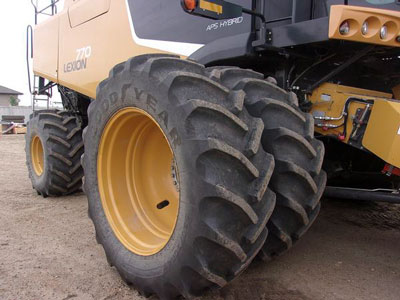 Detail photo of 2011 Claas 770 from Construction Equipment Guide