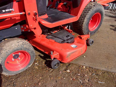 Detail photo of 2012 Kubota BX2660 from Construction Equipment Guide