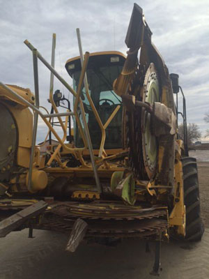Detail photo of 2000 New Holland FX28 from Construction Equipment Guide