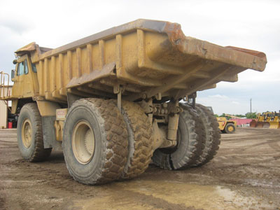 Detail photo of 1991 Caterpillar 773B from Construction Equipment Guide