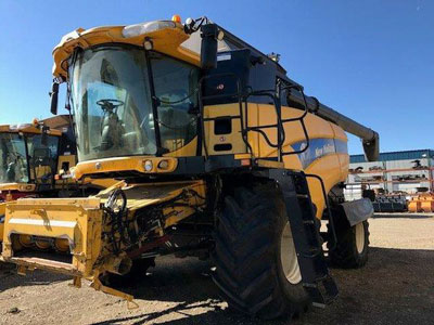 Detail photo of 2012 New Holland CX8080 from Construction Equipment Guide