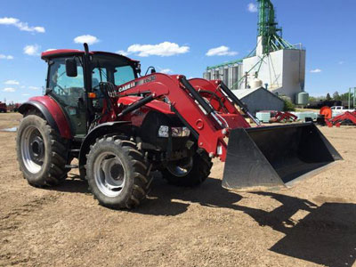 Detail photo of 2014 Case IH FARM95C from Construction Equipment Guide