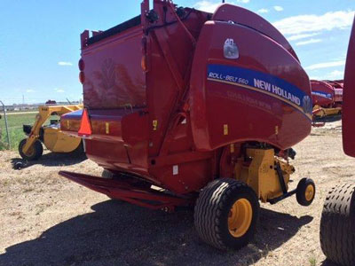 Detail photo of 2016 New Holland RB560 from Construction Equipment Guide