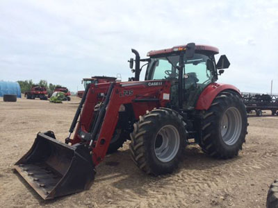 Detail photo of 2012 Case IH MAX120 from Construction Equipment Guide