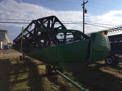 Detail photo of 2009 John Deere 635D from Construction Equipment Guide