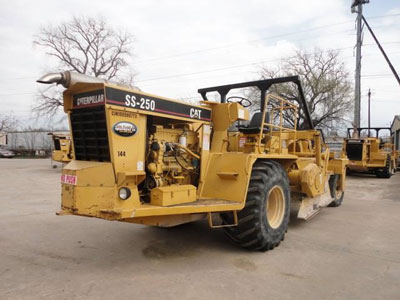 Detail photo of 2000 Caterpillar SS250 from Construction Equipment Guide