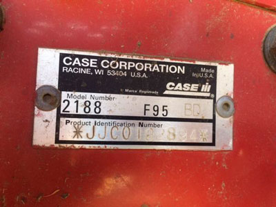 Detail photo of 1996 Case IH 2188 from Construction Equipment Guide