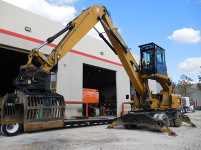 2011 CATERPILLAR M322D MH