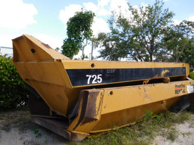 CATERPILLAR 725 Dump Body