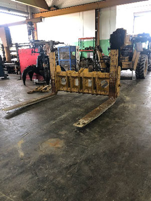CATERPILLAR950GII/H, 82'' Pin-On Forks