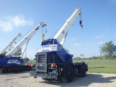 Detail photo of 2009 Tadano GR300XL-1 from Construction Equipment Guide