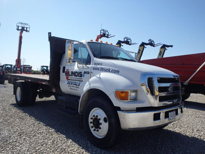 Detail photo of 2006 Ford F750 XLT from Construction Equipment Guide