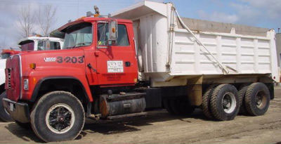 Detail photo of 1991 Ford LT 8000 from Construction Equipment Guide