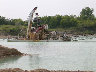 Detail photo of 1971 PACECO MOHR MBA90 Clamshell Gravel Dredge from Construction Equipment Guide