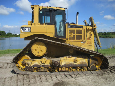 Detail photo of 2008 Caterpillar D6T LGP from Construction Equipment Guide