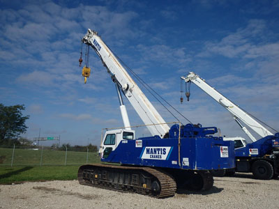 Detail photo of 2006 Mantis 14010 from Construction Equipment Guide
