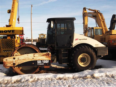 Detail photo of 2005 Ingersoll Rand SC100F from Construction Equipment Guide