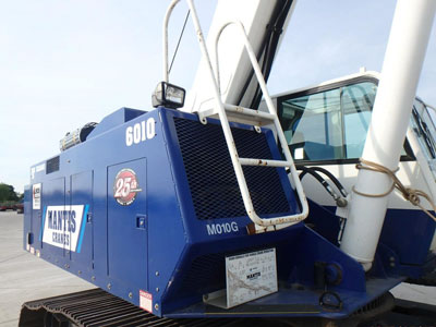 Detail photo of 2013 Mantis 6010 from Construction Equipment Guide